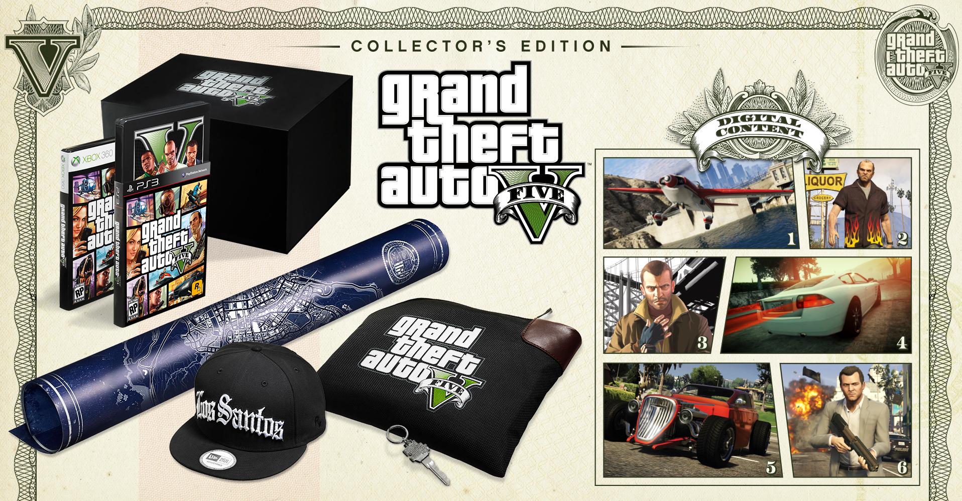 Xbox One Collectors Edition Gta v collectors edition pic